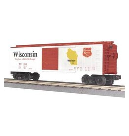 MTH - RailKing 3074187 - BOX CAR WISCONSIN STATE