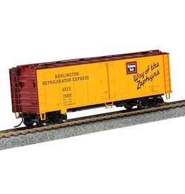 MTH - HO 8578027	 - 	REEFER BURLINGTON HO