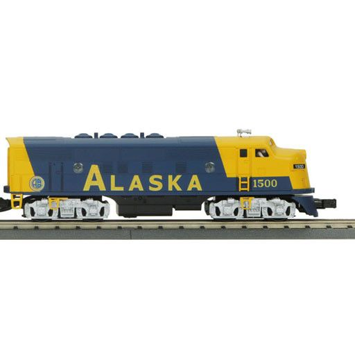 MTH - RailKing 3027151	 - 	ALASKA F-3 ABA Diesel Engine Set w/Proto-Sound 2.0