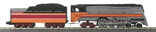MTH - RailKing 30-1683-1 - Milwaukee Road 4-6-4 Imperial Hiawatha Hudson Steamer w/Proto-Sound 3.0