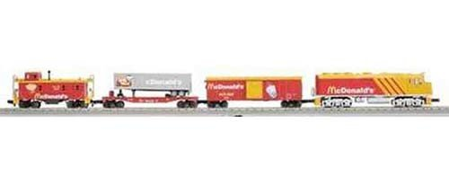 MTH - RailKing 3040421	 - 	McDonalds F40ph R-T-R Train Set w/Proto-S