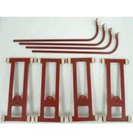 MTH - Tinplate 104068 - TINPLATE Monorail Riser w/Base (4/pack)