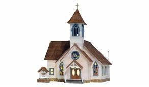 Woodland Scenics Woodland Scenics HO Community Church