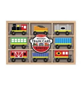 Melissa & Doug 5186 M&D Wooden Train Cars