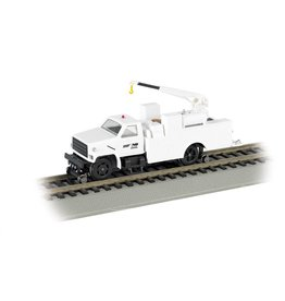 BACHMANN NS HO Hi-Rail Equipment Truck with crane (DCC)