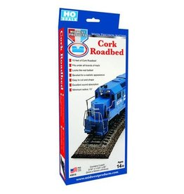 Midwest 3015 HO Cork Roadbed - 15 feet