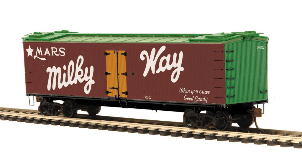 MTH - HO Milky Way R40-2 Reefer Car