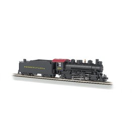 BACHMANN HO 2-6-2 Prairie Steam Loco PRR with smoke