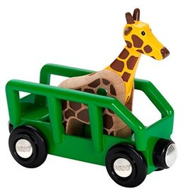 BRIO BRIO - Giraffe and Wagon