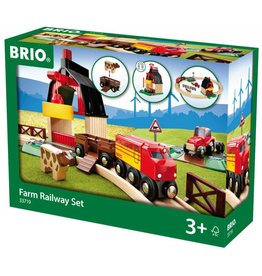 BRIO BRIO - Farm Railway Set
