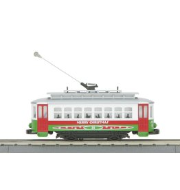 MTH 30-5146 Christmas Bump-n-Go Trolley