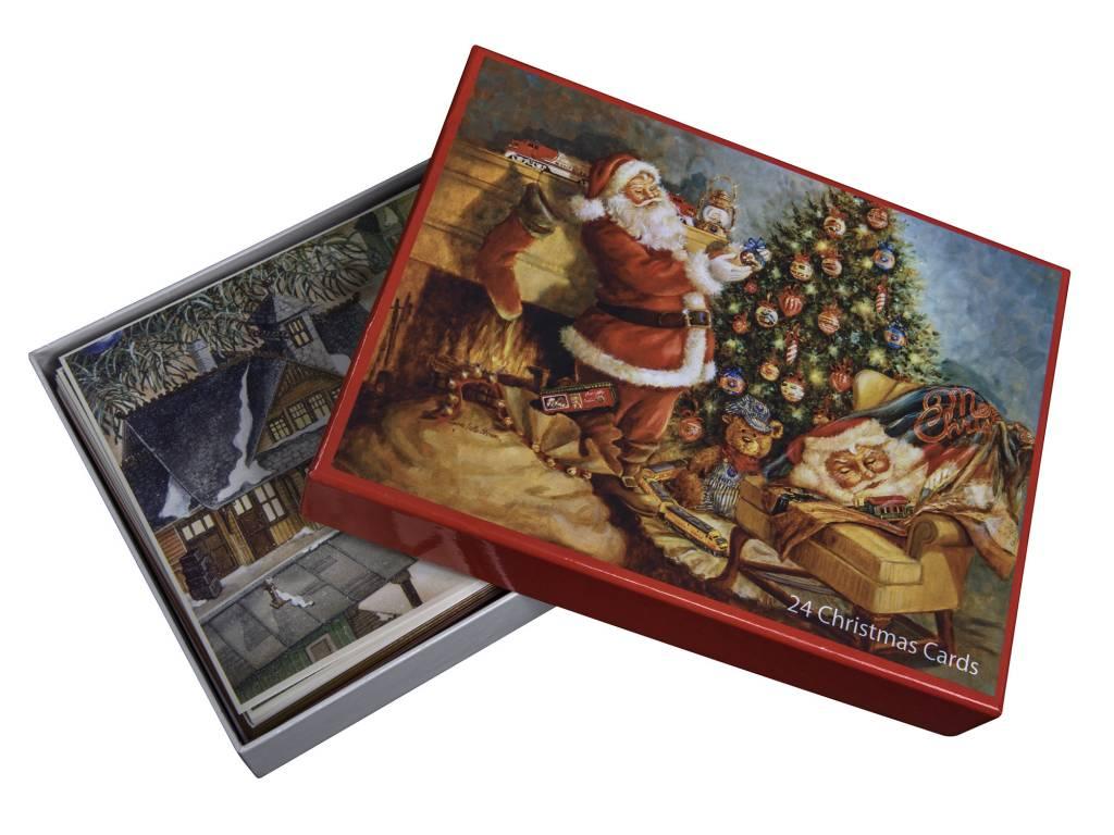 Lionel HM Trotta Christmas Cards 24pc