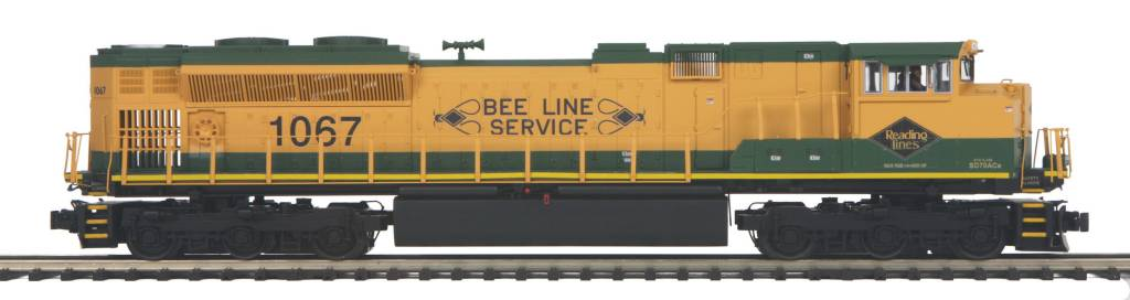 MTH - Premier Reading (#1067) SD70ACE Diesel Engine (Non-Powered) 20-20271-3