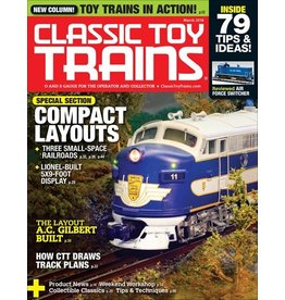 Kalmach Publishing Classic Toy Trains March 2018