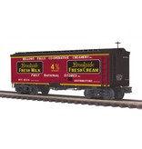 MTH - Premier Brookside Fresh Milk 36' Woodsided Reefer Car 20-94412