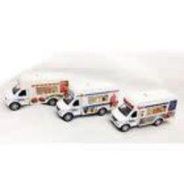 Choo Choo's Food Refreshment Truck 1:43 Scale Diecast Model - ICE CREAM