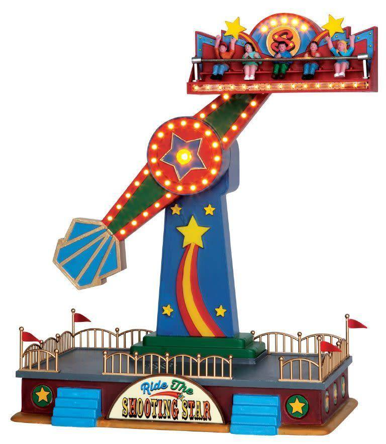 Lionel LEMAX 54918 for LIONEL SHOOTING STAR AMUSEMENT RIDE W/ SOUNDS