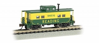 BACHMANN 16857 N Scale Northeast Steel Caboose Reading #94070