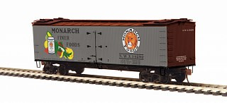 MTH - HO #80-94062, HO Monarch (#14292) R40-2 Woodside Reefer