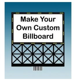 Miller Engineering #88-2351, Large Custom Billboard