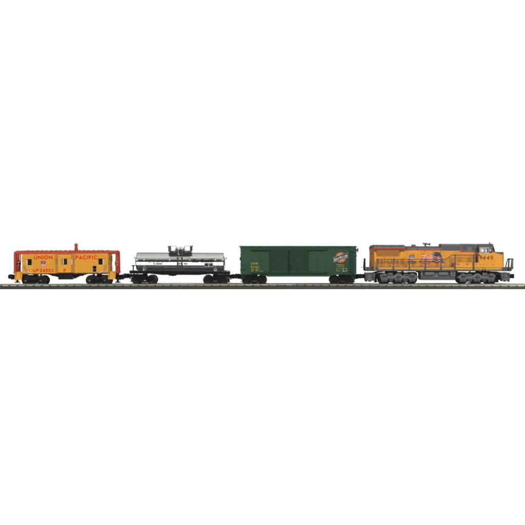 MTH 30-4241-1 Union Pacific Dash-8 Diesel Freight Set with Protosound 3.0