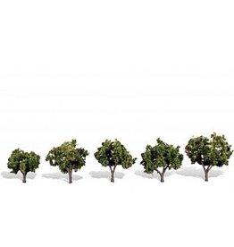 """Woodland Scenics TR3502 Sun Kissed Trees 1 1/4""""- 2"""" (5)"""