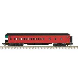 MTH - Premier #20-44052, 70' Madison Passenger Observation Car, Reading & Northern