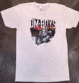 BL141-OAT-BU - Om Boys - Oatmeal S/S Track T-Shirts