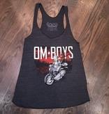 BM92-BLA-BU - Om Boys - Tri-Black Tank Tops