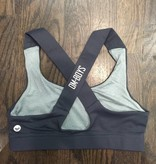 BW086 - Coalition - Om Boys - Grey Yoga Bra