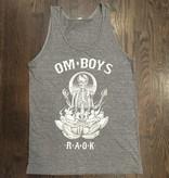 BW109-GREY-SK - Om Boys - Mens Grey Tri-Blend Tank Tops