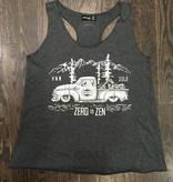 Womens - Om Boys - Charcoal Tank Top - Zen Truck