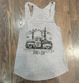 Womens - Om Boys - Grey Tank Top - Zen Truck