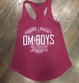 Womens - Om Boys - Acid Wash Mag Tank Top - Let That Shit Go
