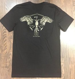 Mens - Om Boys - Black S/S T-Shirts - Om Boys & RSDK