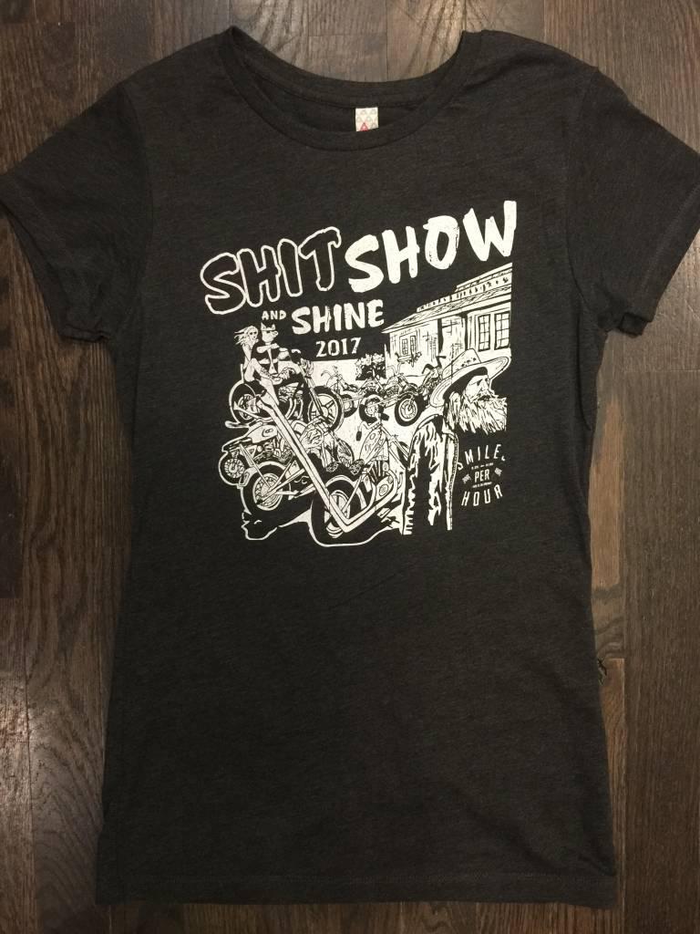 Womens - Om Boys - S/S T-Shirts - Shit Show & Shine