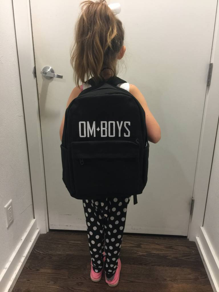 Mens - Om Boys - Black Back Packs - Om Boys