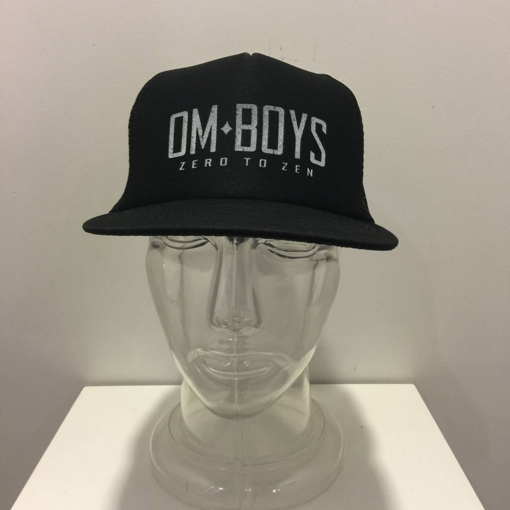 Mens - Om Boys - Mesh Back Trucker Hats - Zero To Zen/Om Boys