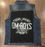Womens - Om Boys - Denim Vest - Let That Shit Go Patch