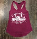 Womens - Om Boys - Acid Wash Mag Tank Top - Zen Truck