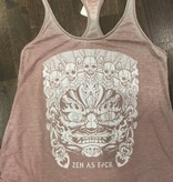 Womens - Om Boys - Burn Out Tank Top - Mahakala