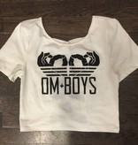 Womens - Om Boys - Crop Top w/X-Back - Om Hands