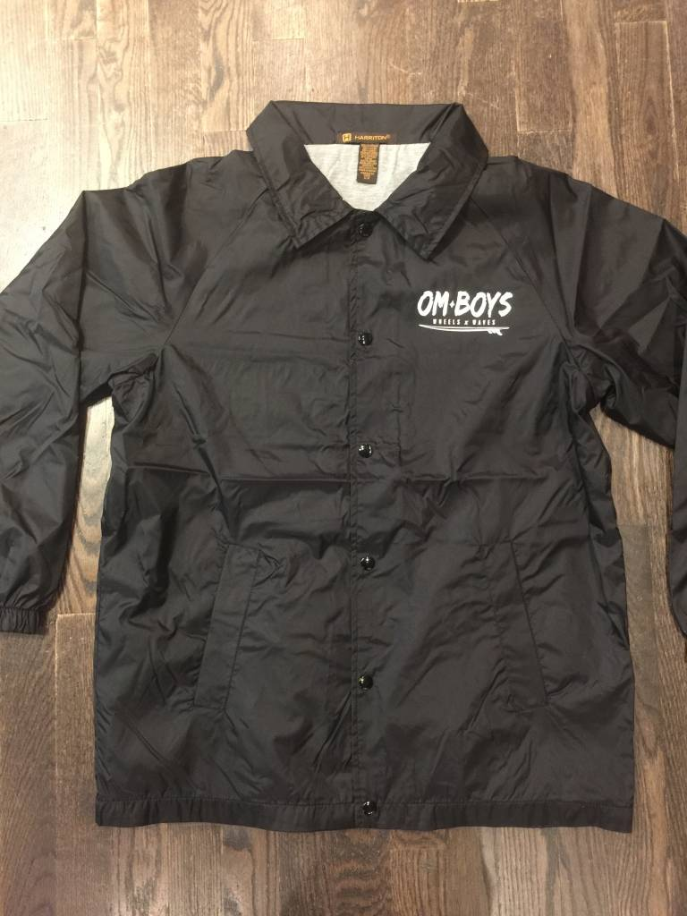 Mens - Om Boys - Harriton Coach Jacket - Wheels & Waves