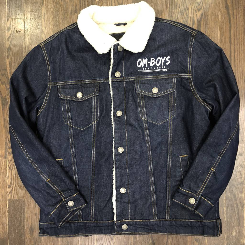 Mens - Om Boys - Sherpa Trucker Jacket - Wheels