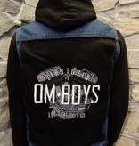Mens - Om Boys - Denim Vest - Let That Shit Go