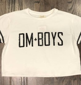 Womens - Om Boys - S/S Crop Top - Om Boys