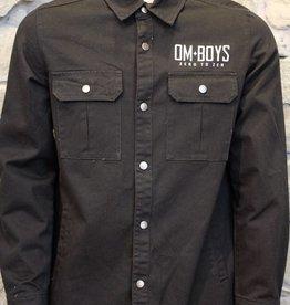 Mens - Om Boys - L/S Snap Up Shirts - Kali