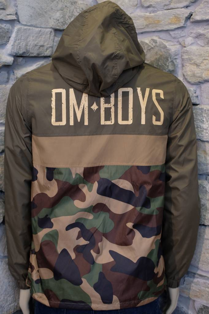 Mens - Om Boys - Pullover W-Breaker - Om Boys