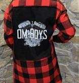 Womens - Om Boys - Plaid Jacket - Let Shit Go