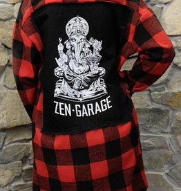 Womens - Om Boys - Plaid Jacket - Ganesh